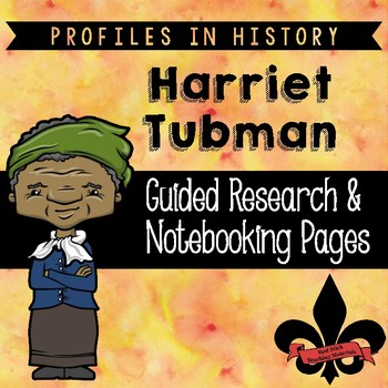 Harriet Tubman Guided Research Activity