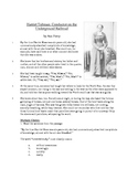 Harriet Tubman - Informational Text Test Prep