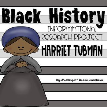 Harriet Tubman- Informational Writing