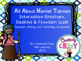 Harriet Tubman Interactive Brochure, Research, Writing, and Craftivities