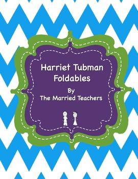 Harriet Tubman Interactive Historical Figure Foldables