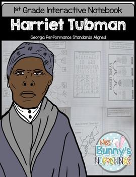 Harriet Tubman Interactive Notebook (1st Grade)