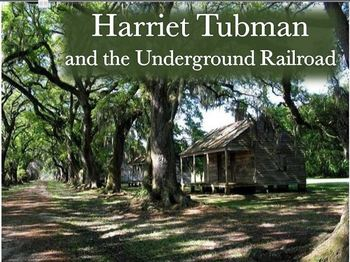 Harriet Tubman Interactive Vocabulary PowerPoint