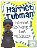 Harriet Tubman Internet Scavenger Hunt WebQuest Activity