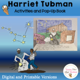 Harriet Tubman Lesson and Pop Up Book