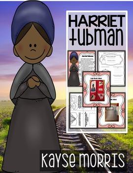 Harriet Tubman  Women's History Month Activities