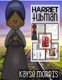 Harriet Tubman Activities, Close Reading, Crafts, and More