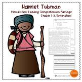 Black History Month Reading Passage - Harriet Tubman