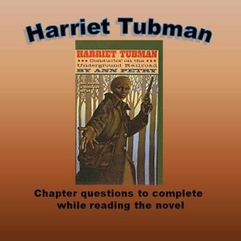 Harriet Tubman Novel Study