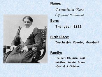 Harriet Tubman PPT