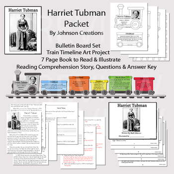 Harriet Tubman Packet
