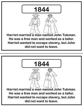 Harriet Tubman - People in History