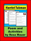 Harriet Tubman Poem and Comprehension Packet