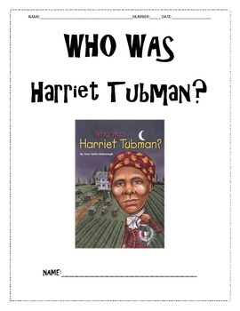 Harriet Tubman Reading Guide