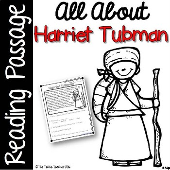 photo about Harriet Tubman Printable Worksheets identified as Harriet Tubman Worksheet Lecturers Pay out Academics