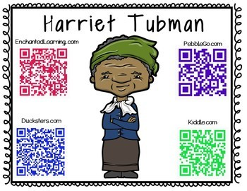 Harriet Tubman Research Mini-Booklet