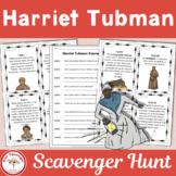 Harriet Tubman Scavenger Hunt