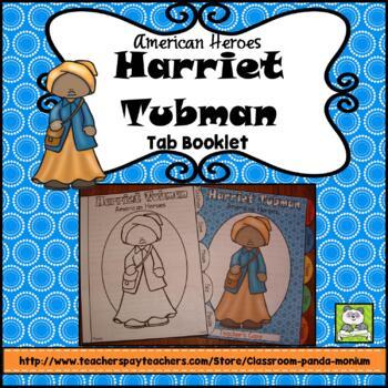 Harriet Tubman Tab Booklet