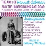 Harriet Tubman Underground Railroad Readers Theater Script
