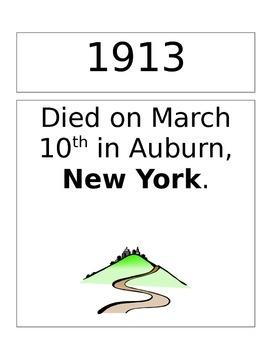 Harriet Tubman Timeline