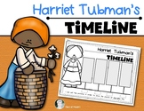 Harriet Tubman Timeline for {Kindergarten and First Grade} Social Studies