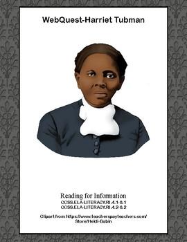 Harriet Tubman-WebQuest