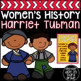 Harriet Tubman Women's History Activities