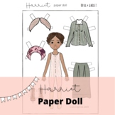 Harriet Tubman, Women's History Month Activity: Paper Doll