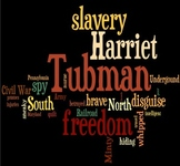 Harriet Tubman Wordle Cloud