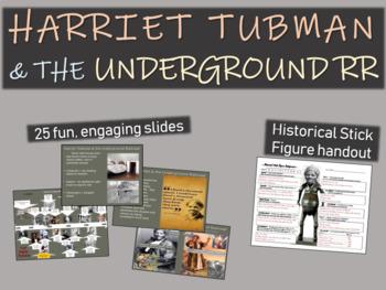 Harriet Tubman and the Underground Railroad (25-slide PPT)