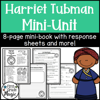 Harriet Tubman and the Underground Railroad Mini-book for