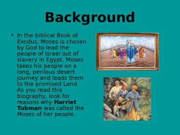Harriet Tubman biography powerpoint