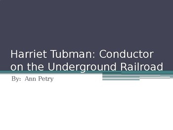 Harriet Tubman by Ann Petry