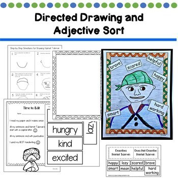 Harriet Tubman First Grade (Reading, Writing, & Art Activities)