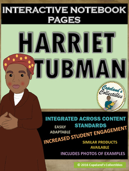 Harriet Tubman's Interactive Notebook Pages