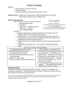 Using Background Knowledge & Making Connections:  1st Grad