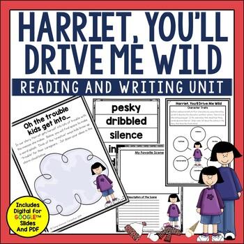 Harriet, You'll Drive Me Wild Book Companion