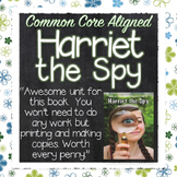 Harriet the Spy Literature Guide Lessons, Activities PACKE