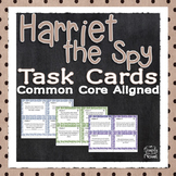 Harriet the Spy Task Cards - Reading Comprehension Activity