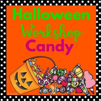 Halloween, Special Ed., Kindergarten -Halloween Book-Harriet's Halloween Candy