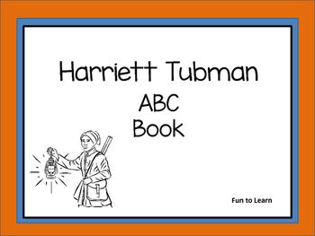 Harriett Tubman    ABC Book