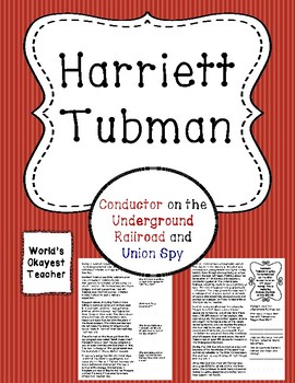 Harriett Tubman: Underground Railroad, Union Spy