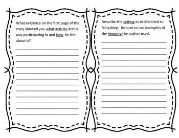 Harris Burdick (Archie Smith, Boy Wonder) Close Reading Questions