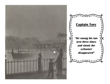 Harris Burdick (Captain Tory) Close Reading Questions