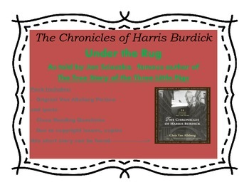 Harris Burdick (Under the Rug) Close Reading Questions