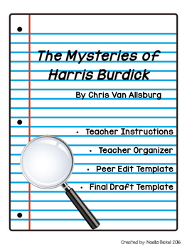 Harris Burdick Writing Template