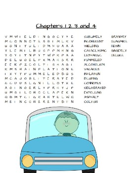 Harris and Me Chapters 1-4 Vocabulary