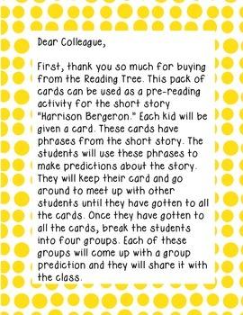 Harrison Bergeron Block Party