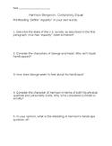 Harrison Bergeron Comprehension Questions