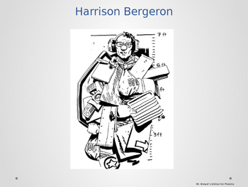 Harrison Bergeron - Full text with highlighted 9th Grade Vocab